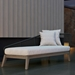Modloft Netta Modern Outdoor Left Chaise - Outdoor