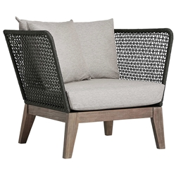 Modloft Netta Modern Outdoor Lounge Chair