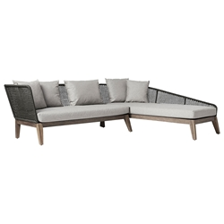 Modloft Netta Modern Outdoor Right Facing Sectional