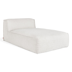 Nexus Modular Contemporary Chaise in Thea Moonstone by Gus* Modern