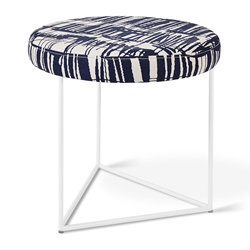 Nova Contemporary Stool in Franz Indigo by Gus* Modern
