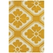 Obi 3'x5' Rug in Yellow and Cream