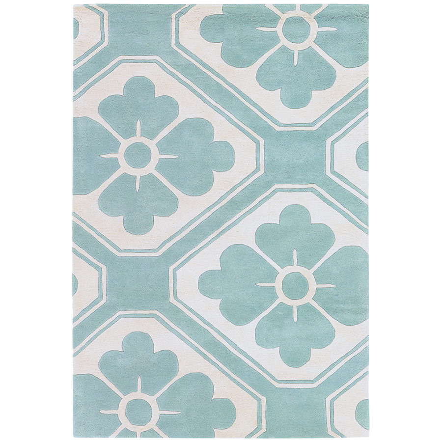 Chandra Obi Modern 5 X8 Rug Aqua Collectic Home