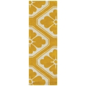 Obi Runner Rug in Yellow