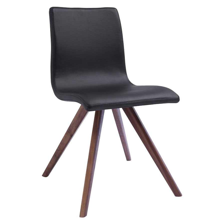 Olga Black Contemporary Dining Chair