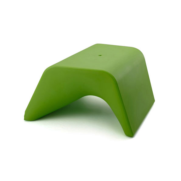 Otto Green Outdoor Ottoman + Planter by Offi & Company