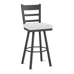 Owen Counter Stool in Black Coral and Spark by Amisco