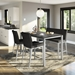 Amisco Pablo XL Modern Counter Stools + Bench