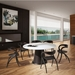 Palmero Wenge Contemporary Dining Table Room