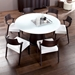 Palmero Wenge Contemporary Dining Table