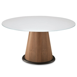 Palmero White Modern Dining Table