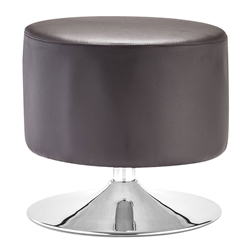 Palmiro Brown Contemporary Ottoman