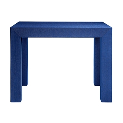 Parsons Blue Contemporary Side Table