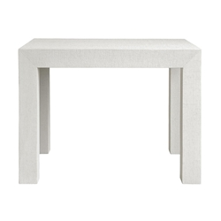 Parsons White Contemporary Side Table