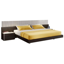 Pasadena Contemporary Platform Bed