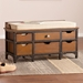 Patsy Contemporary Storage Bench Room