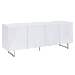 Paul Modern White Buffet