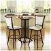 Paula Swivel Stool Collection by Amisco