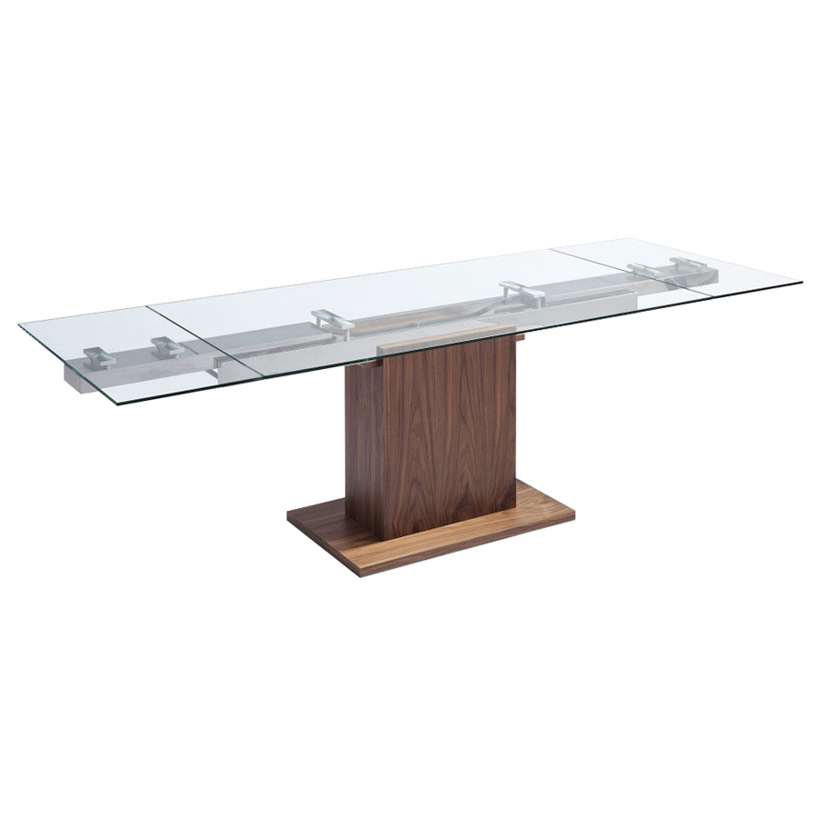 Pilastro Contemporary Extension Table