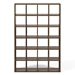 "Pombal 60"" Walnut Contemporary Bookcase"