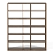 "Pombal 72"" Walnut Modern Bookcase by TemaHome"