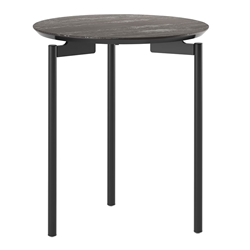 BDi Radius 1736 Ferrous Ceramic Modern End Table