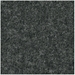 Rebecca Modern Arm Chair - Dark Gray Wool Swatch