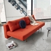 Innovation Living Recast Plus Modern Sleeper Sofa in Paprika