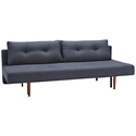 Recast Sleeper Sofa in Blue by Innovation