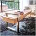 Modern Return Bench in Natural Oak by Gus Modern