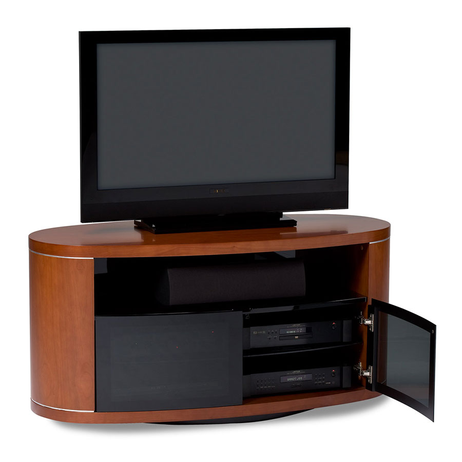 Bdi Revo Cherry Modern Tv Stand Collectic Home