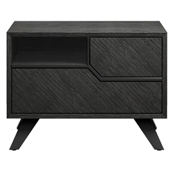 Modloft Rivington Modern Nightstand in Gray Oak