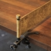 Rustic Industrial Style Ping Pong Table - Net Detail