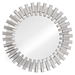 Sanjay Modern Patterned Frame Wall Mirror