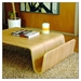 Offi & Company Scando Birch Coffee Table + Magazine Rack