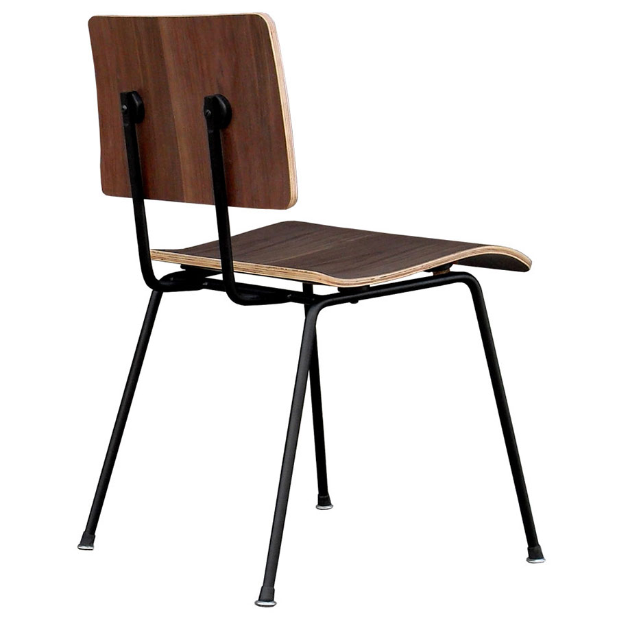 School Contemporary Dining Chair by Gus Modern in Walnut  sc 1 st  Collectic Home & Gus Modern School Dining Chair in Walnut   Eurway