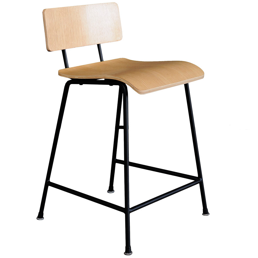 School Contemporary Counter Stool by Gus Modern in Natural Oak  sc 1 st  Collectic Home & Gus Modern School Counter Stool in Natural Oak | Eurway islam-shia.org