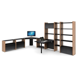 Semblance Executive Contemporary Desk by BDI