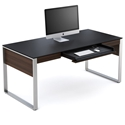 Sequel Executive Desk in Chocolate by BDI
