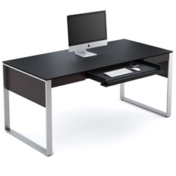 Sequel Executive Desk in Espresso by BDI