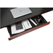 BDI Sequel Lift Contemporary Executive Sit + Stand Desk Optional Storage Drawer in Cherry
