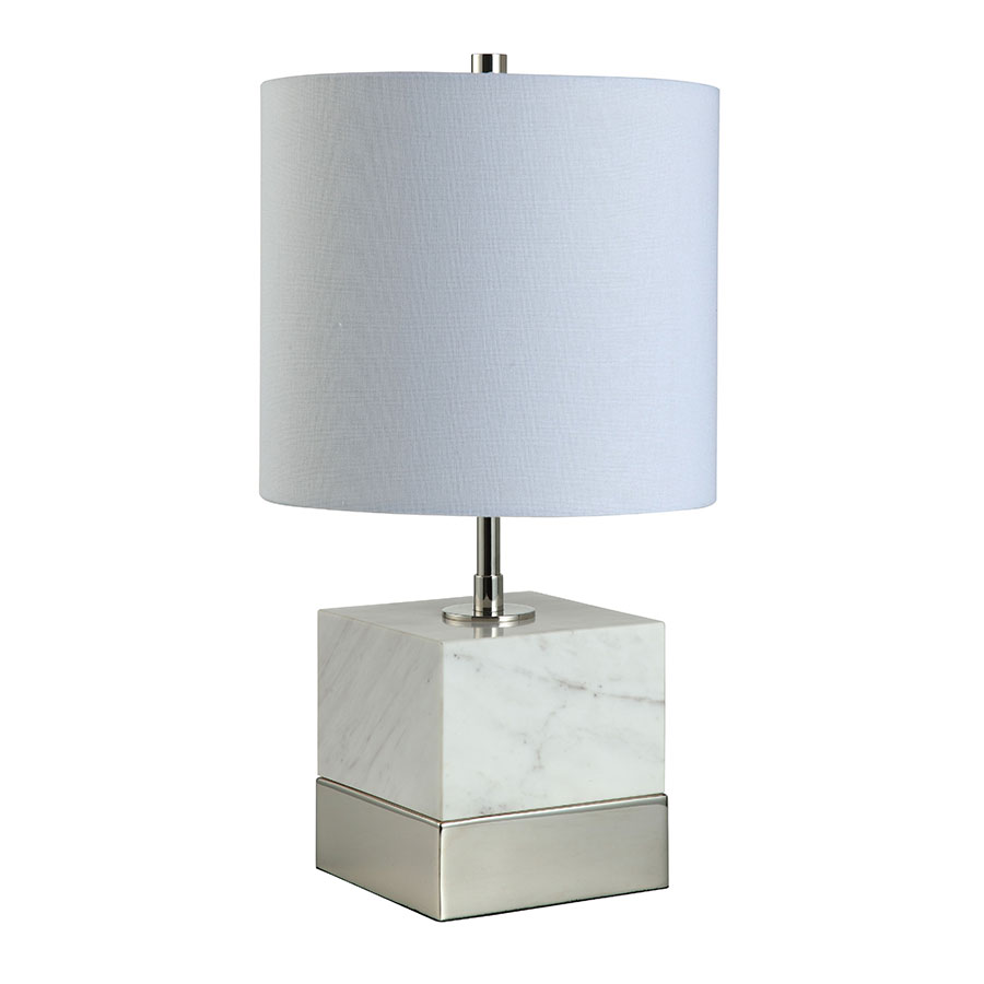 Seraphina Nickel Contemporary Table Lamp