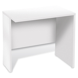 Sirius 100 Collection Modern White Desk Return
