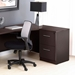 Series 100 Modern Two Drawer File Cabinet in Espresso