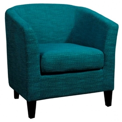 Sheila Tub Chair in Topaz Blue