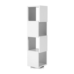 Shell Quadruple Contemporary Shelf