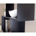 Sigma Contemporary Matte Black Bookcase by TemaHome