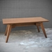 Gus Modern Span Dining Table in Walnut