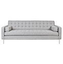 Spencer Contemporary Sofa in Parliament Stone by Gus* Modern