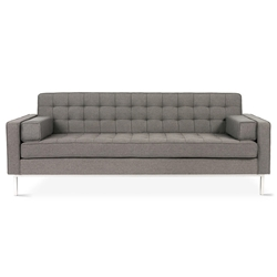 Spencer Contemporary Sofa in Totem Storm by Gus* Modern